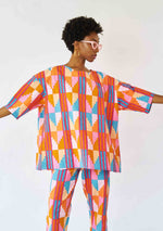 YEVU Women - Top Tunic Top - Sherbet