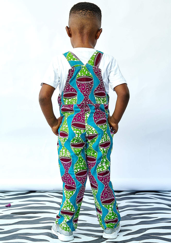 YEVU VIP Kids Mini Overalls - Time