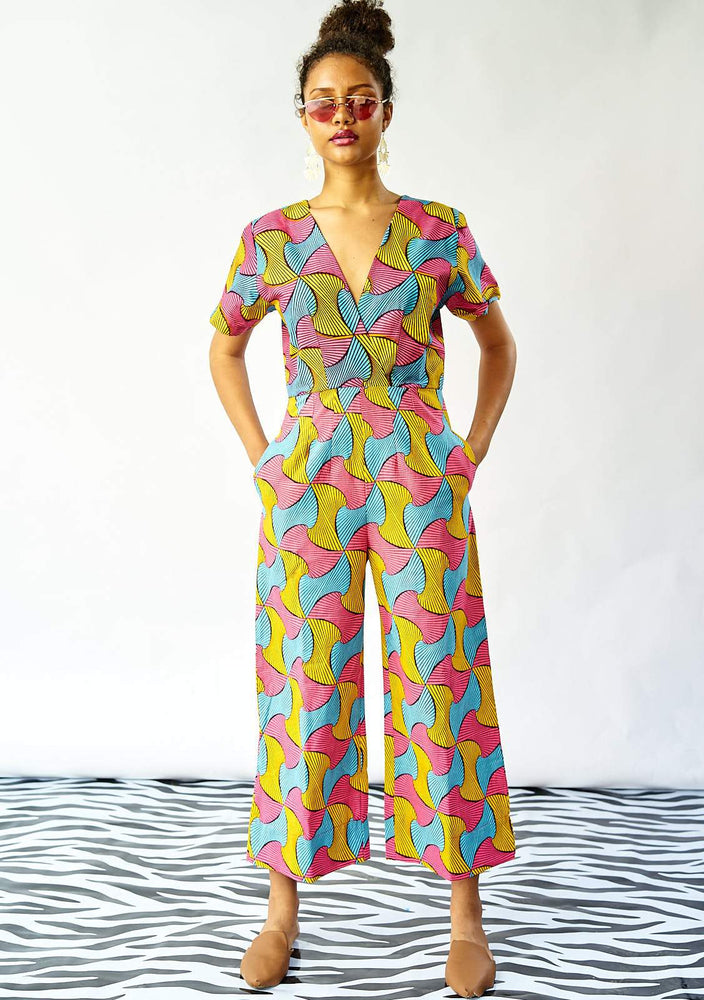 Wrap Body Jumpsuit - Lolly Pops