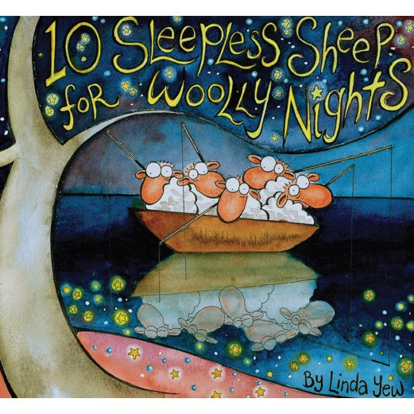 10 Sleepless Sheep for Woolly Nights