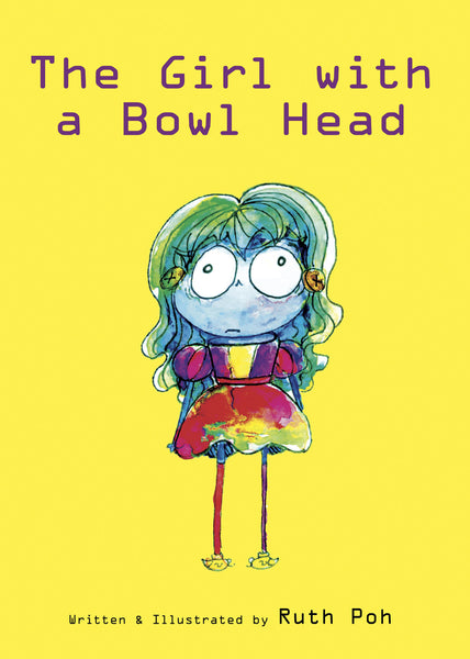 The Girl With A Bowl Head