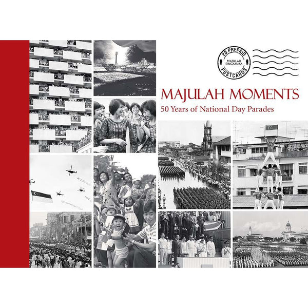 Collectible Postcard Book : Majulah Moments