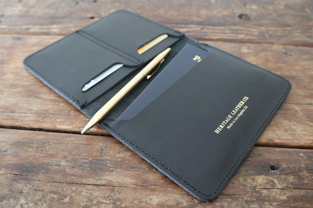 Passport Case: Black