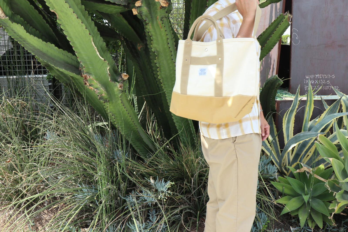Pop Tote: Natural / Beige