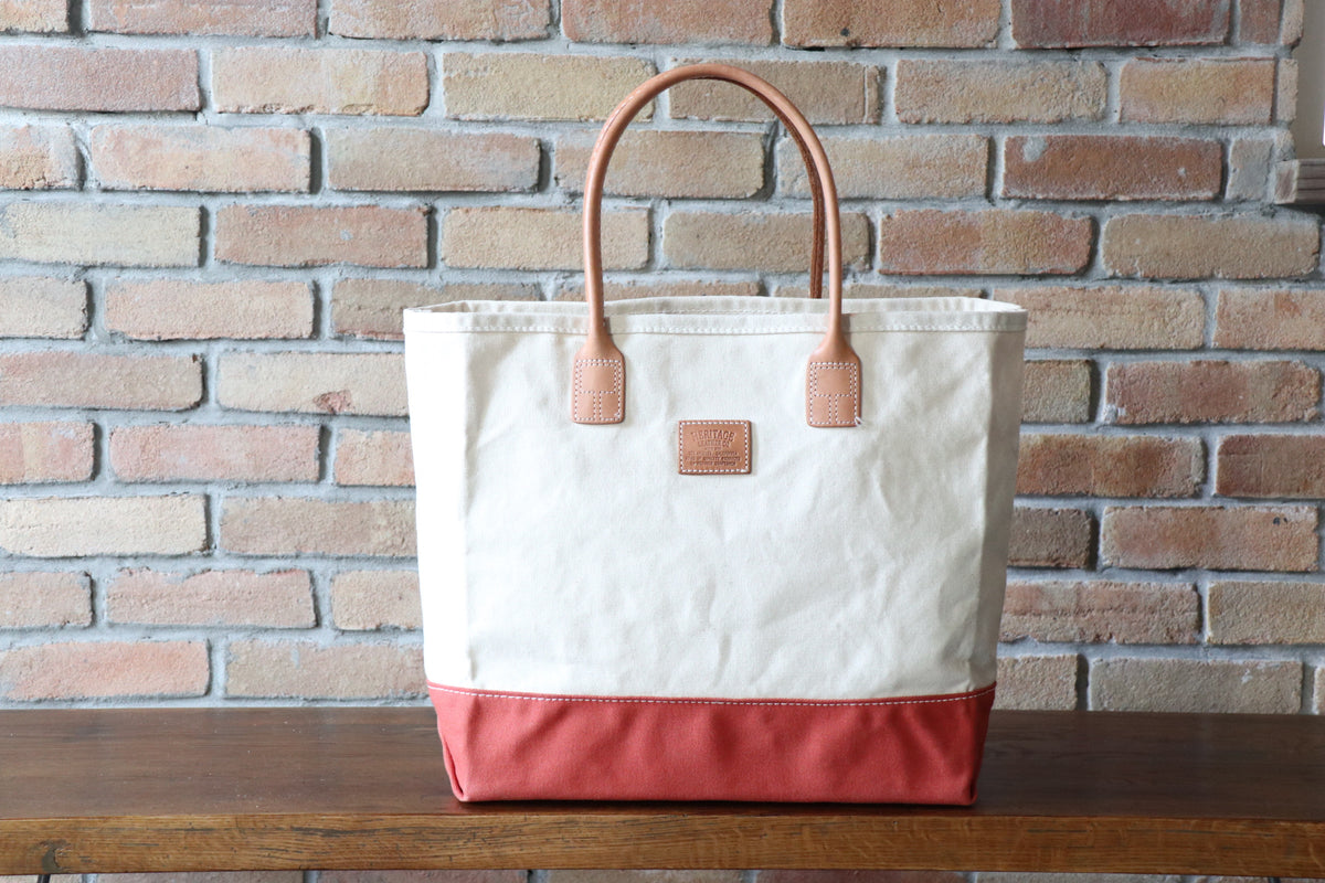 Day Tote:       Natural / Orange