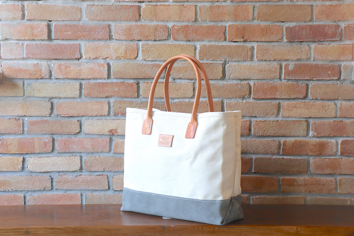 Day Tote (W):       Natural / Grey Suede