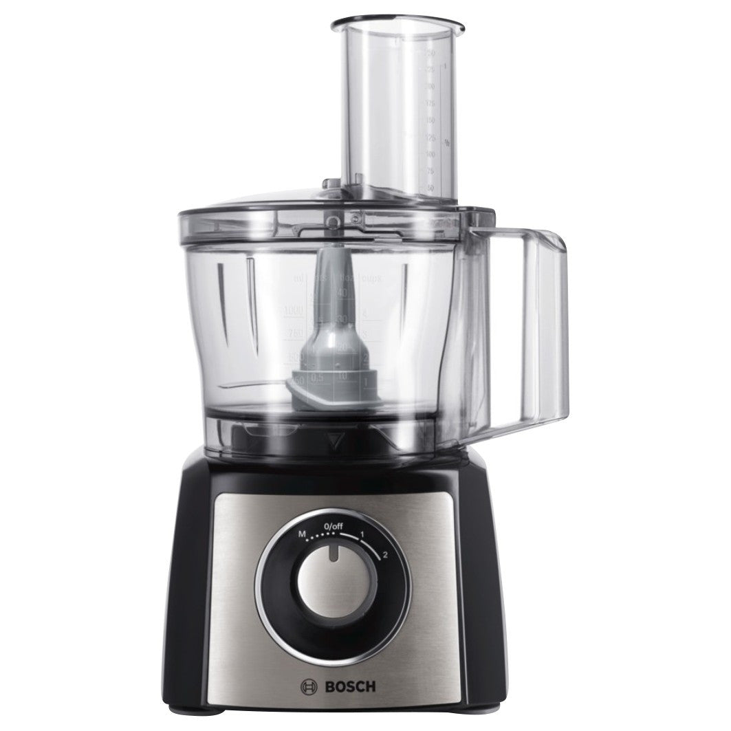 Unusual Items - Bosch MCM3501MGB Food Processor, Black / Stainless ...