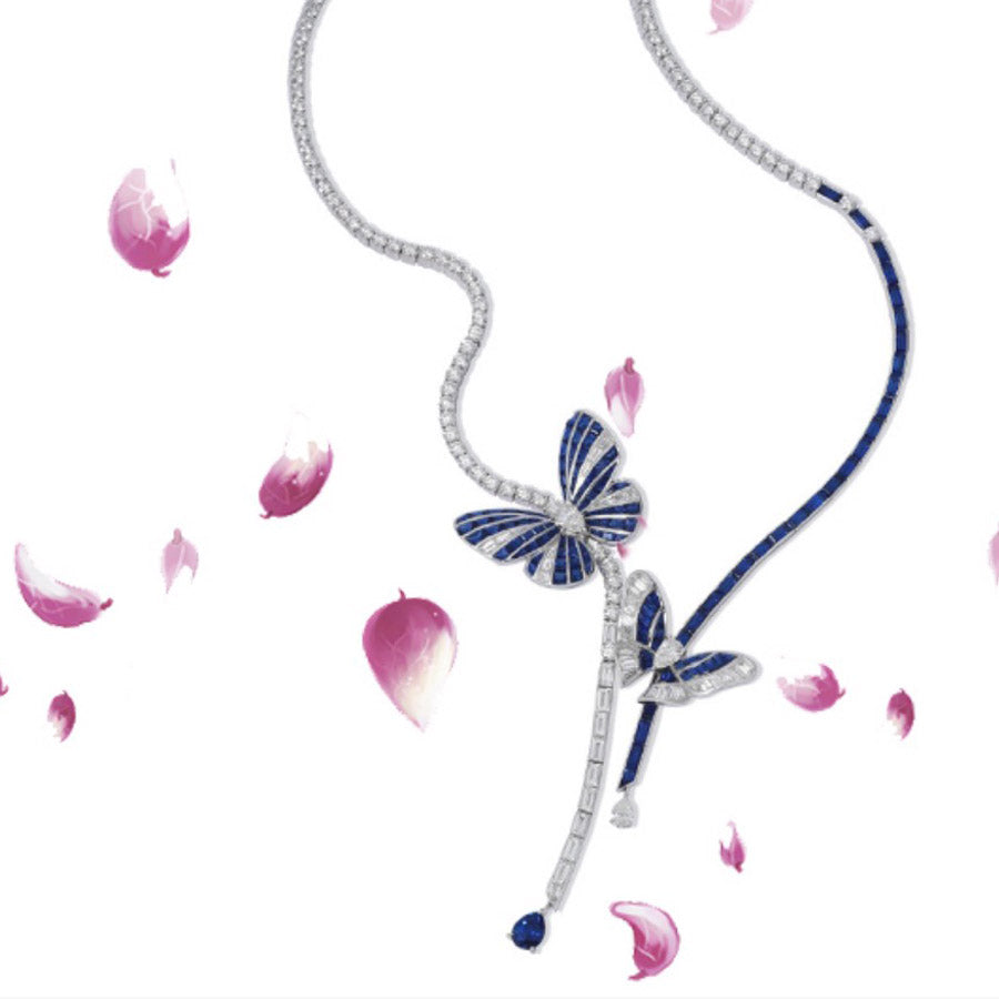 The Stenzhorn Butterfly Necklace: most jeweled and must have!