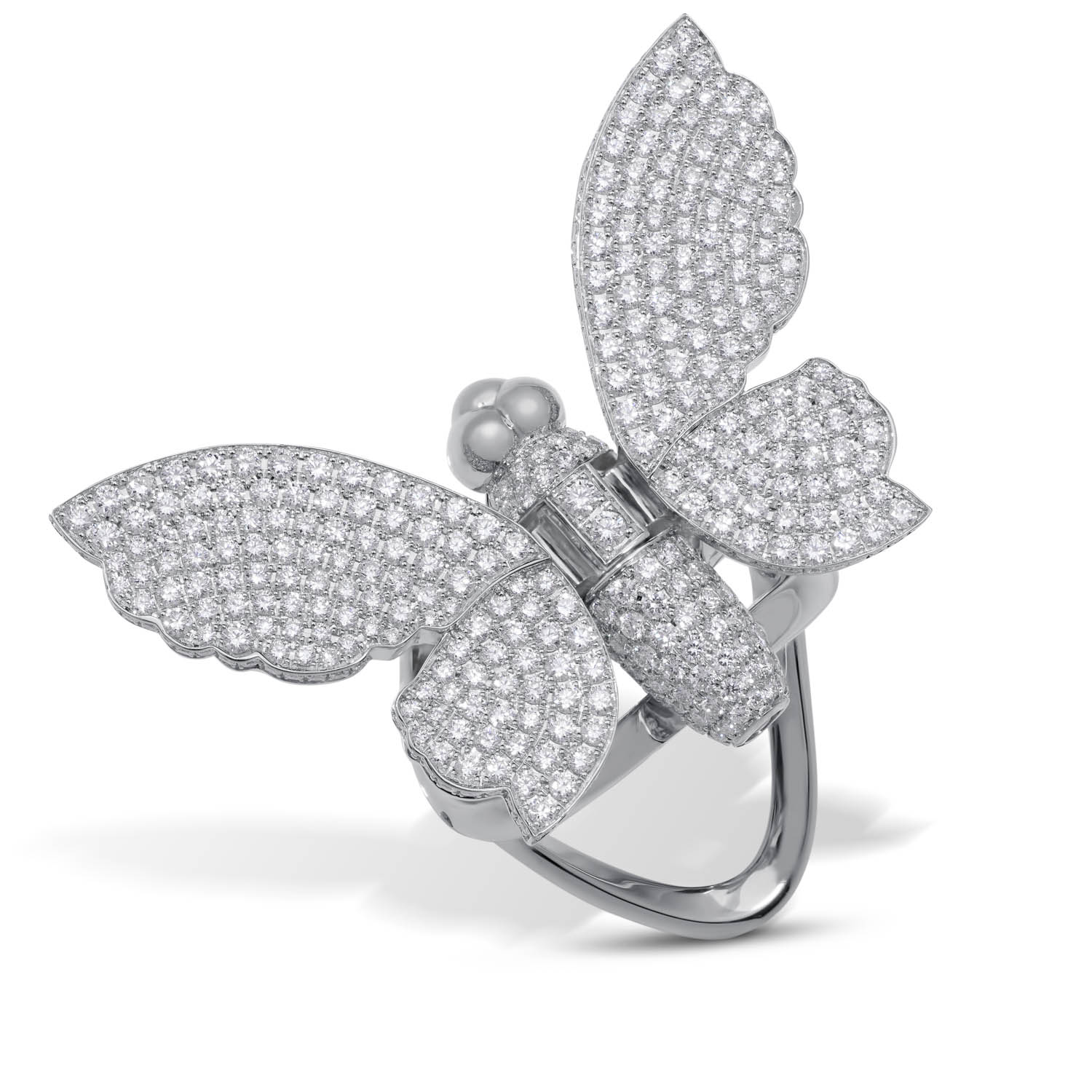 Butterfly Movable Ring