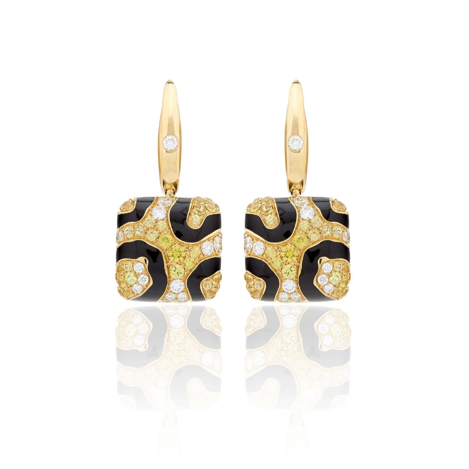 WILD LIFE SKIN LEOPARD Earrings - STENZHORN JEWELLERY