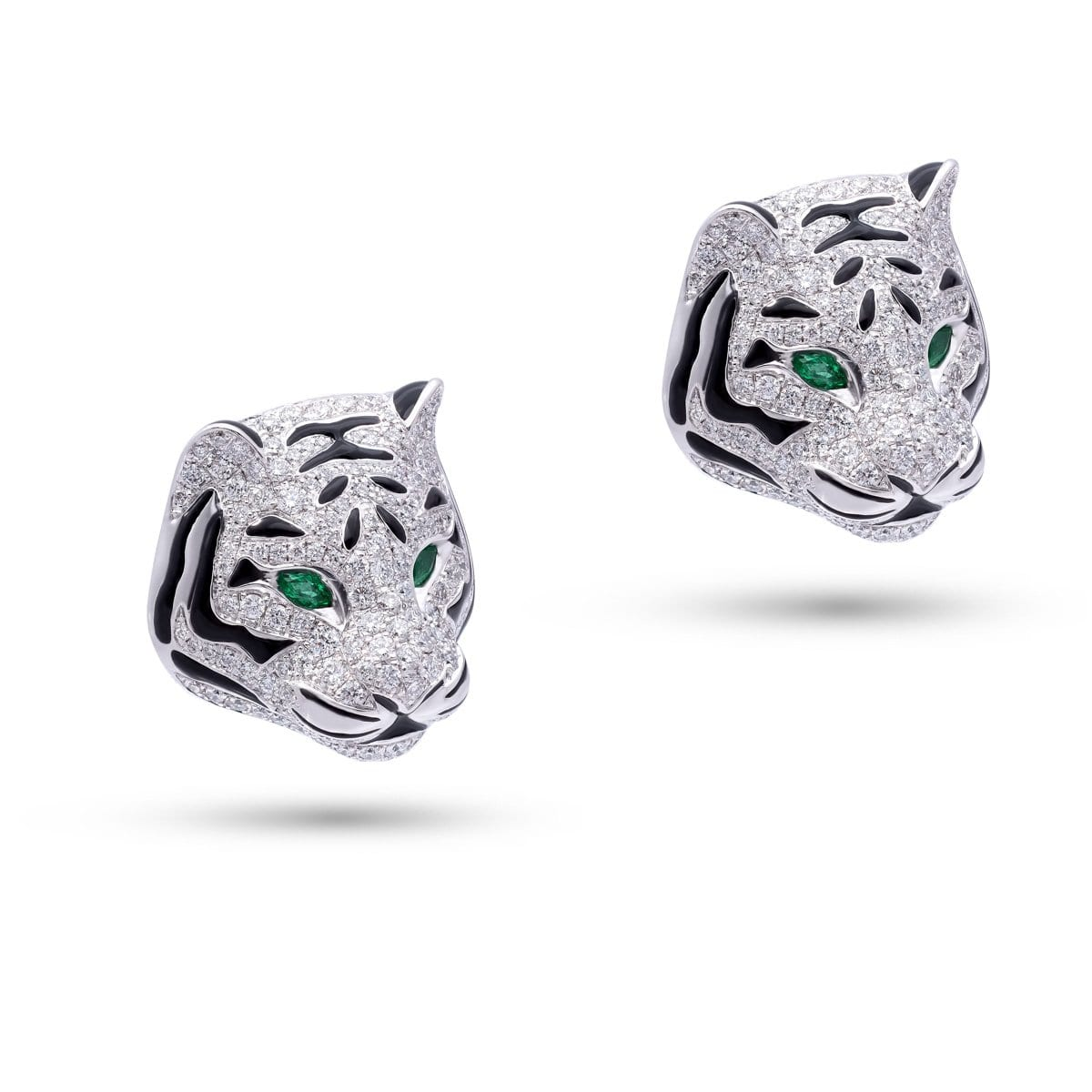 WILD LIFE FELINE Earrings - STENZHORN JEWELLERY