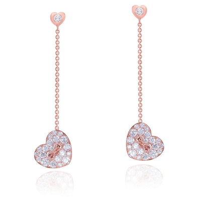 CHAIN MY HEART Earrings