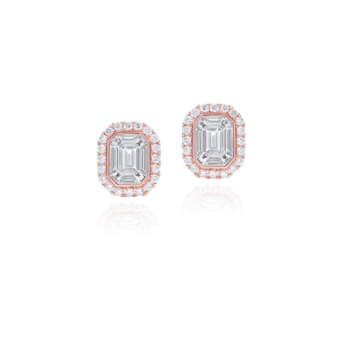 MUSE PINK Earrings - STENZHORN JEWELLERY