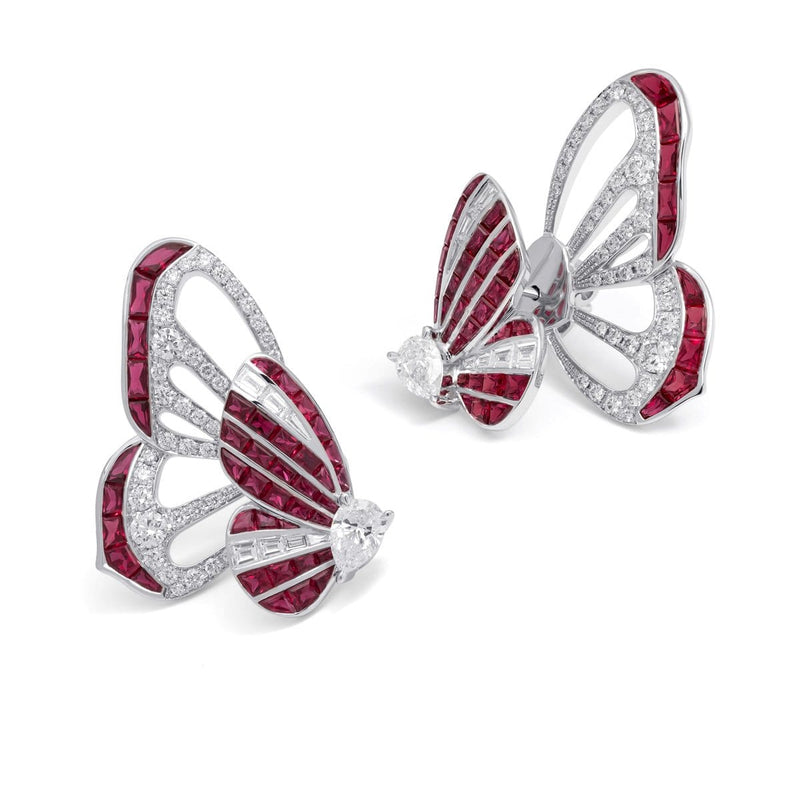BUTTERFLY LOVERS KIMONO EARRINGS - STENZHORN JEWELLERY