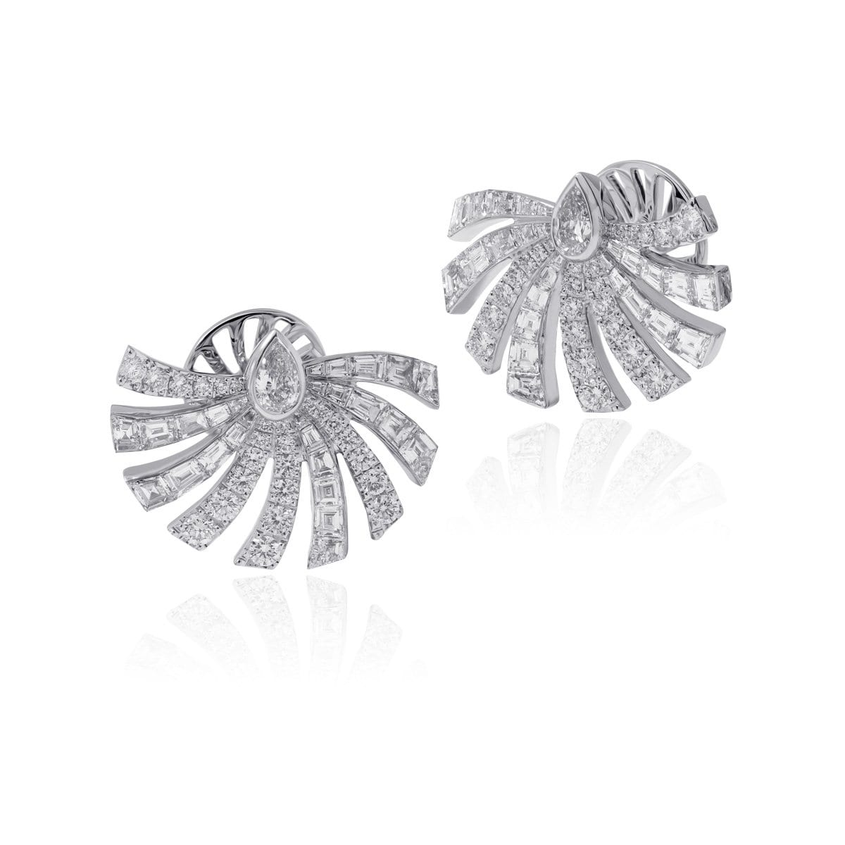 PERSUASION WHITE Earrings - STENZHORN JEWELLERY