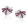 PERSUASION RUBY Earrings - STENZHORN JEWELLERY