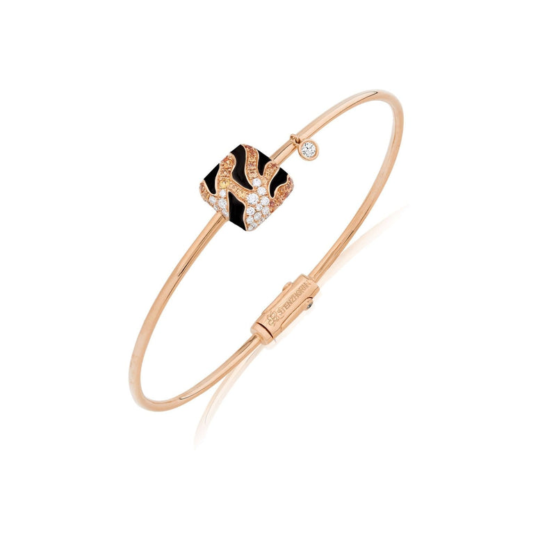 WILD LIFE SKIN TIGER Bangle - STENZHORN JEWELLERY