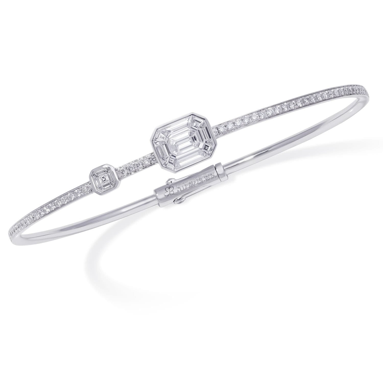 MUSE DIAMOND Bangle - STENZHORN JEWELLERY