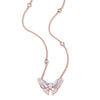 BUTTERFLY LOVERS Mother of Pearl Necklace