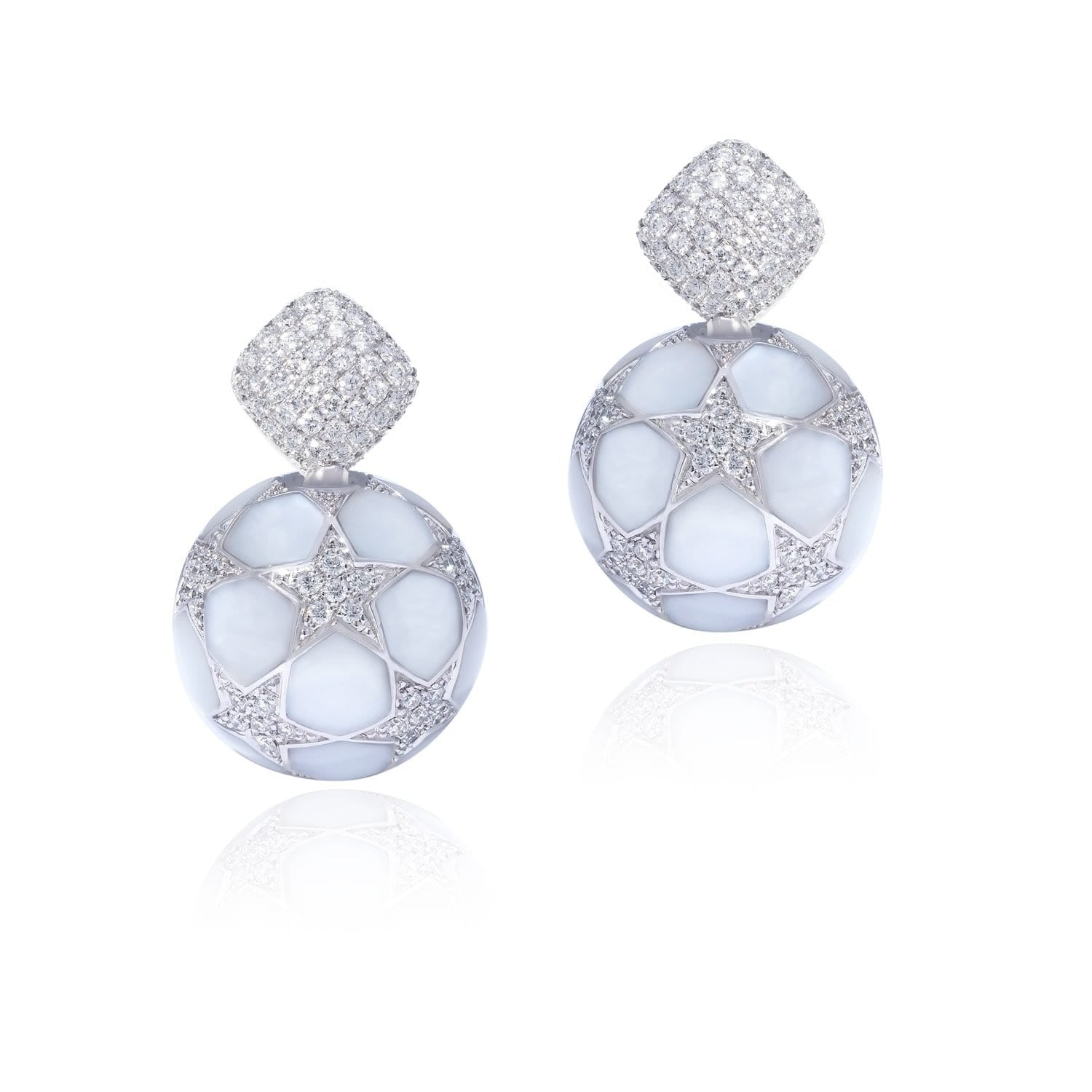 COMPOSA STARS Earrings - STENZHORN JEWELLERY