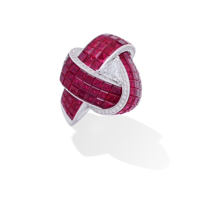 MOSAIC CLASSICAL Knot Ring - STENZHORN JEWELLERY