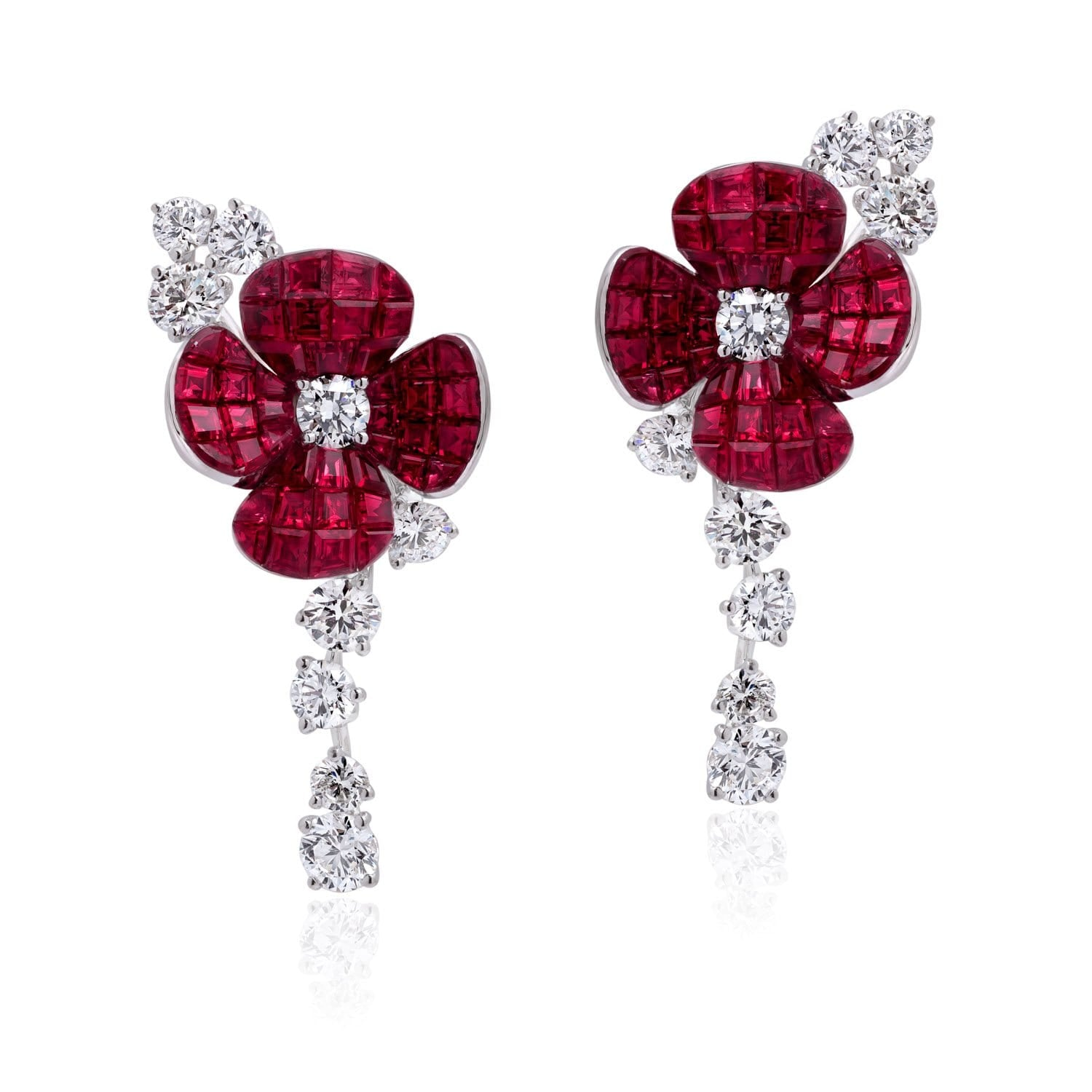 FLORAL, Hortensia Earrings