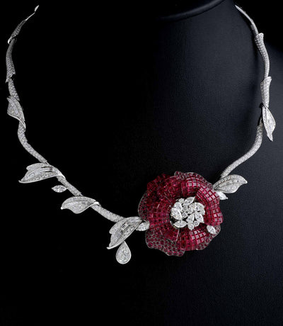 SNOW WHITE AND ROSE RED Necklace - STENZHORN JEWELLERY