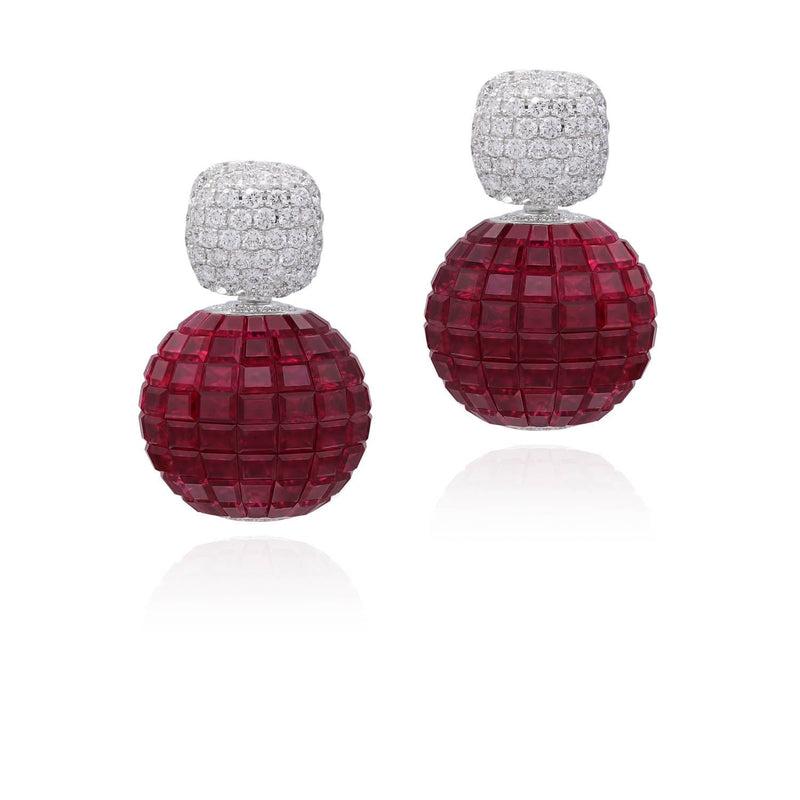 MOSAIC CLASSICAL Sphere Earrings