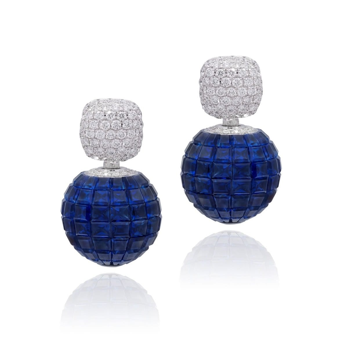MOSAIC CLASSICAL Sphere Earrings - STENZHORN JEWELLERY