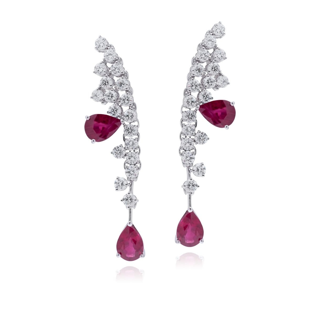 DIVINE RUBY Earrings - STENZHORN JEWELLERY