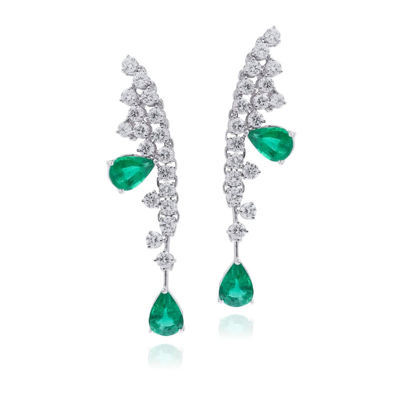 DIVINE EMERALD Earrings - STENZHORN JEWELLERY