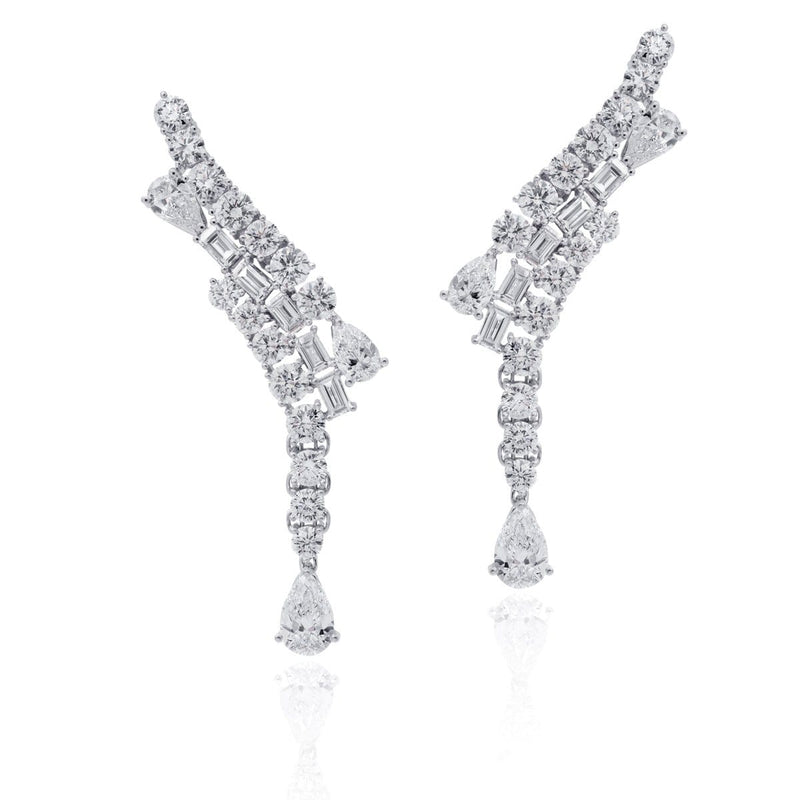 ICED ZEIT, STORM Earrings - STENZHORN JEWELLERY