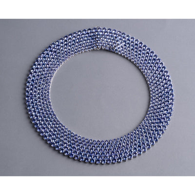 VINTAGE: 2NDSKIN Necklace, Tanzanite