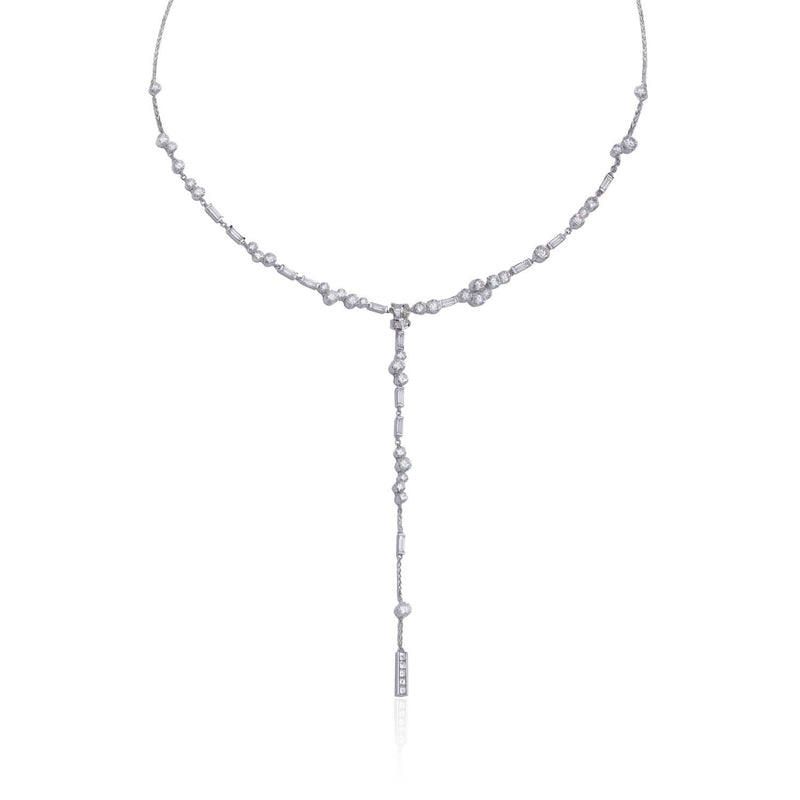 "UNA, All Diamond ""Bride"" Necklace"