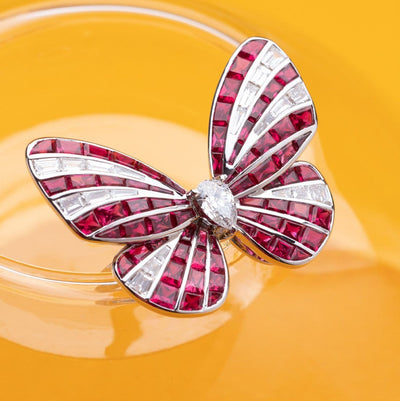 BUTTERFLY LOVERS Ring