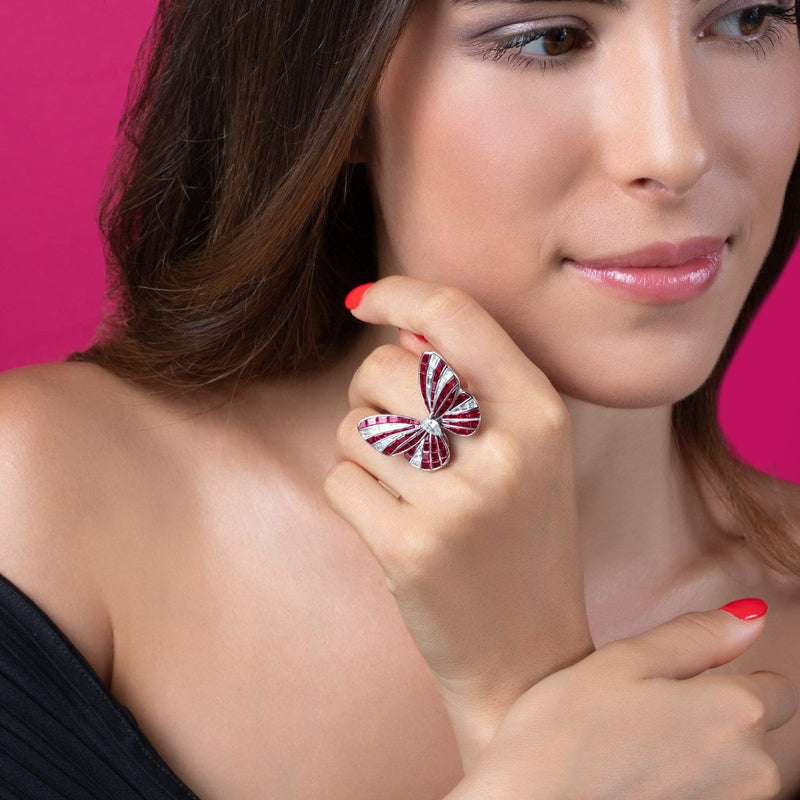 BUTTERFLY LOVERS RING - STENZHORN JEWELLERY