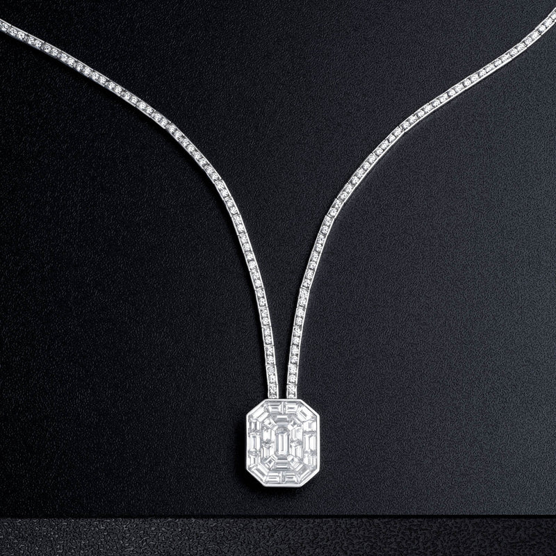 ICED ZEIT, Necklace - STENZHORN JEWELLERY
