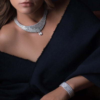 OVIDIO DIAMOND NECKLACE