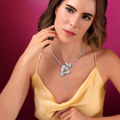 RHINE ROMANCE Freesia Necklace