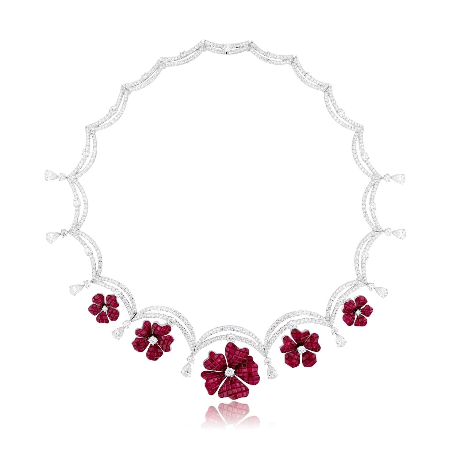 FLORAL Necklace - STENZHORN JEWELLERY