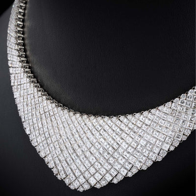 OVIDIO DIAMOND NECKLACE - STENZHORN JEWELLERY
