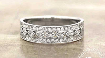 DIAMOND WEDDING BANDS: SET OFF SOME SPARKLE