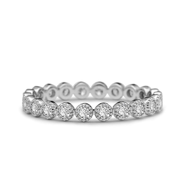 MILGRAIN ETERNITY RING
