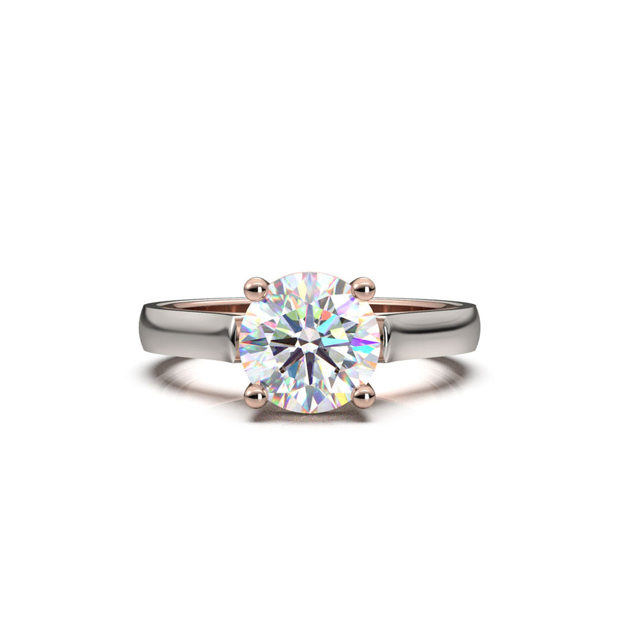 1.5 carats diamond engagement ring