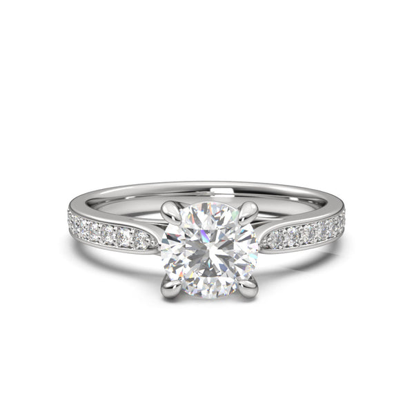 Moissanite Leviosa Ring