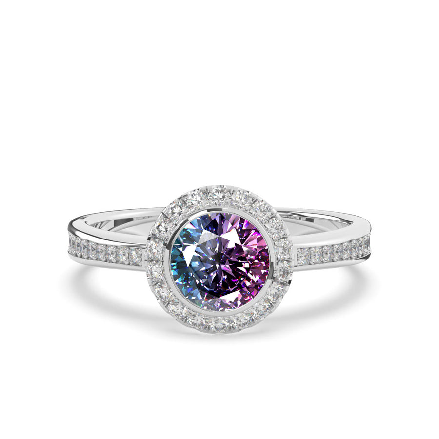 The Veronica Alexandrite Ring
