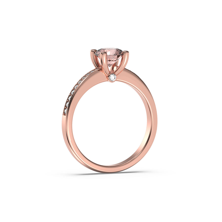 Morganite Carmen Ring