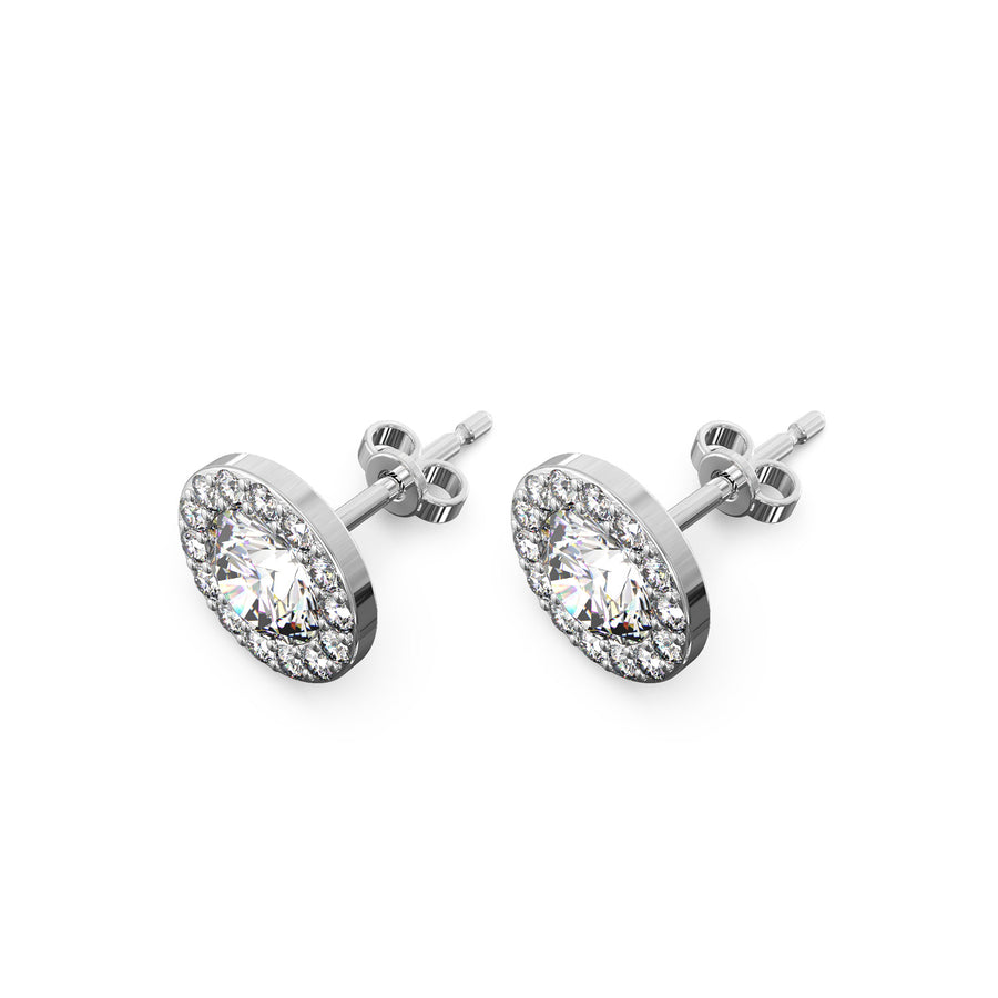 The Halo Gemma Earrings