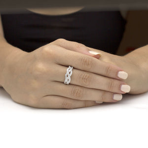 The Bisou Diamond Wedding Band