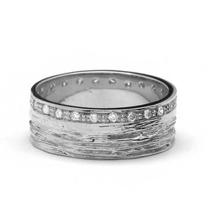 Camden Diamond Wedding Band